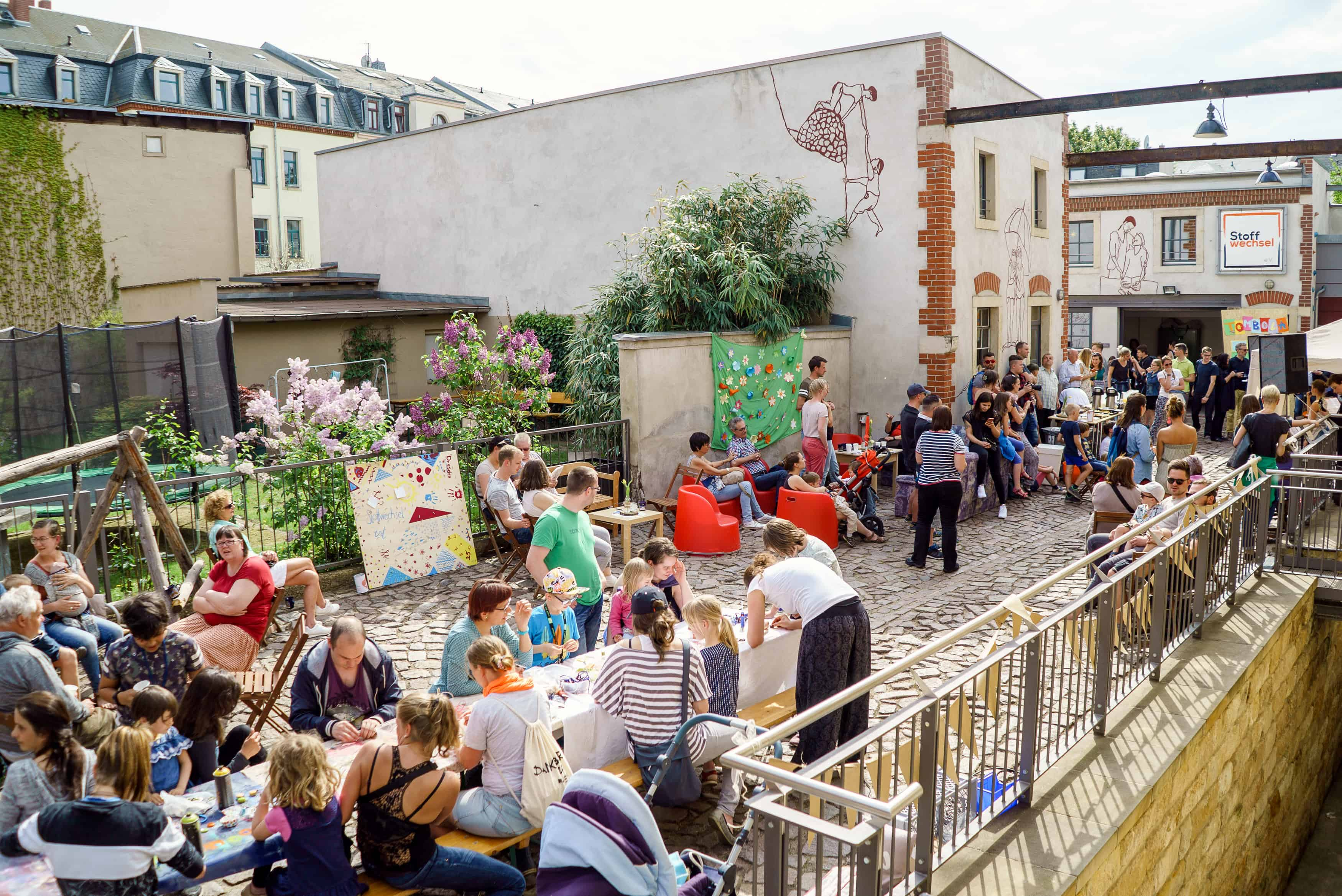 Familienzentrum Pieschen 25 Jahre Feier 2018