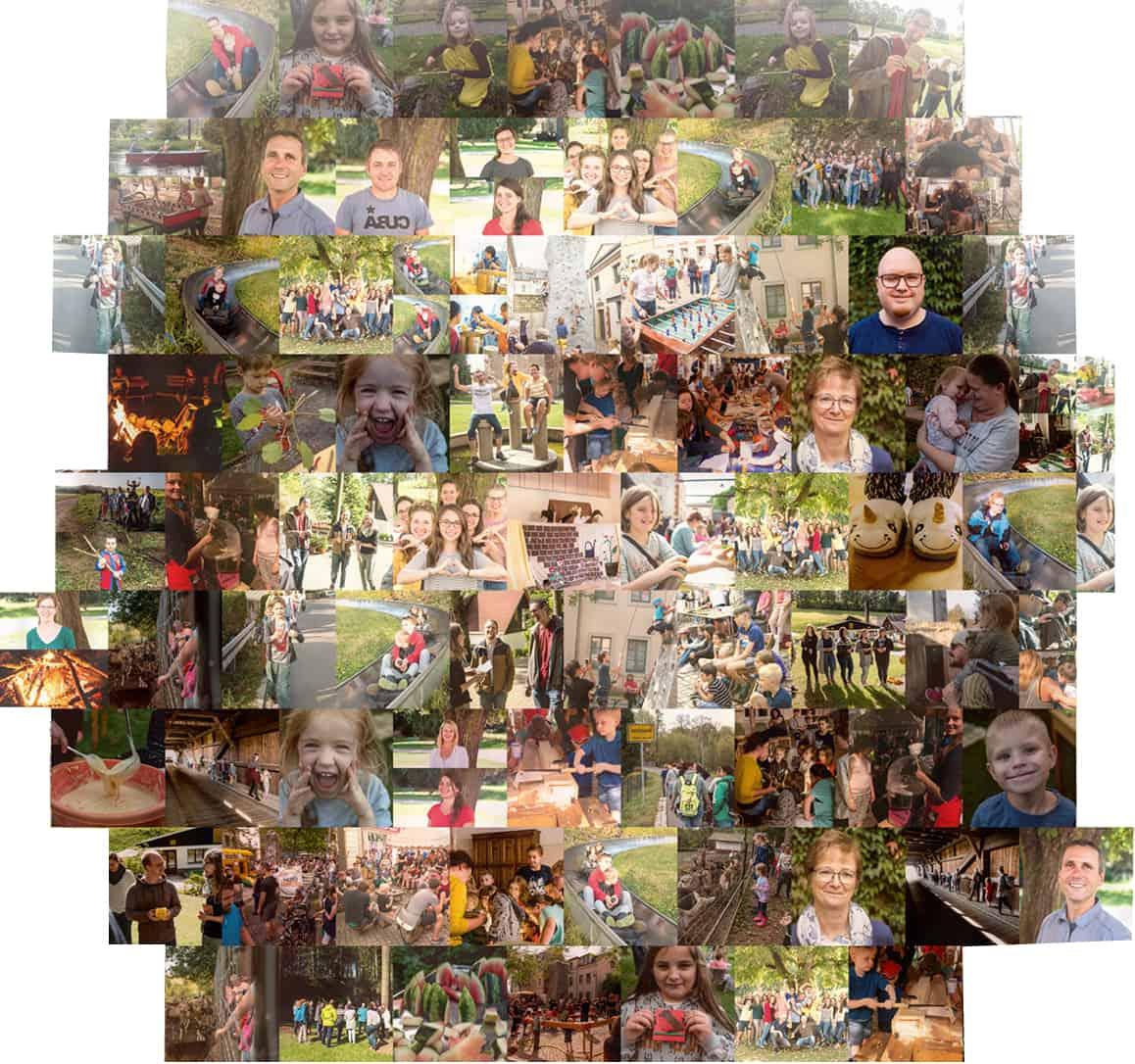 Stoffwechsel Collage zum Newsletter Leitthema: Vielfalt in Einheit